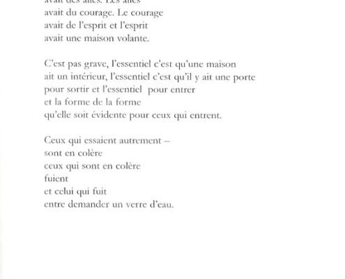 Efrat Mishori, Poem (French)